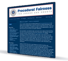 Procedural Fairness Blog