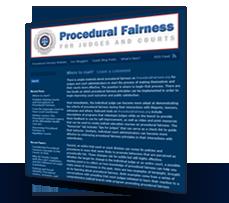 Procedural Fairness Blog